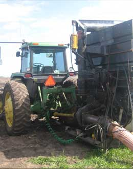 Manure Field Injections